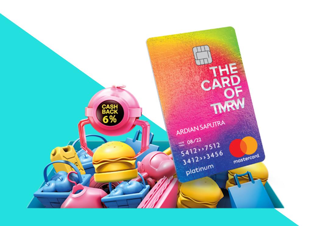 Kartu Kredit Cashback Tmrw By Uob